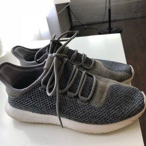 Adidas tubular athletic shoes